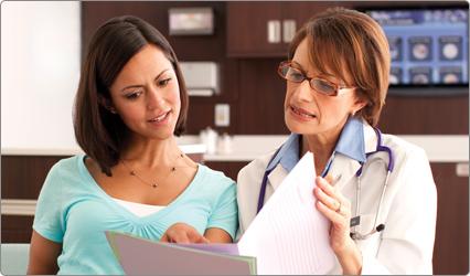 Chequeo médico antes del embarazo