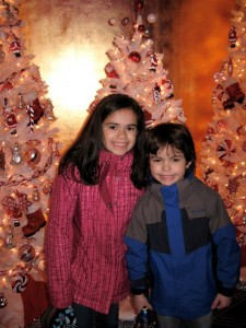 Isabel y CJ en radio city