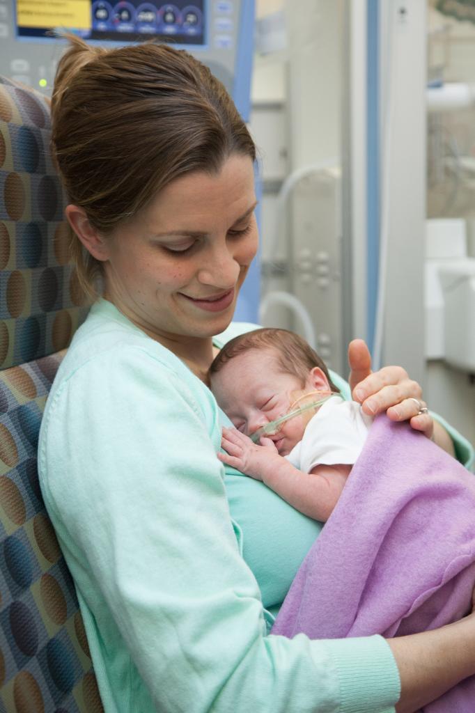 Cómo amamantar a su bebé en la NICU