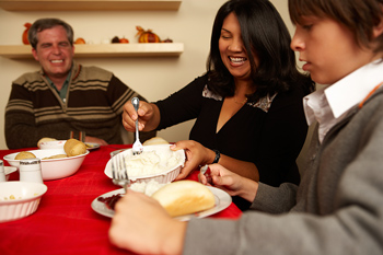 La cena en familia es importante