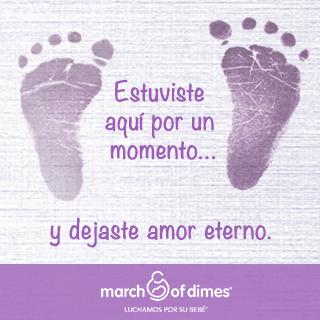 Día del Recuerdo de la Pérdida del Embarazo o Infantil