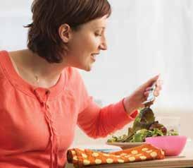 Seguridad al preparar sus alimentos en el embarazo