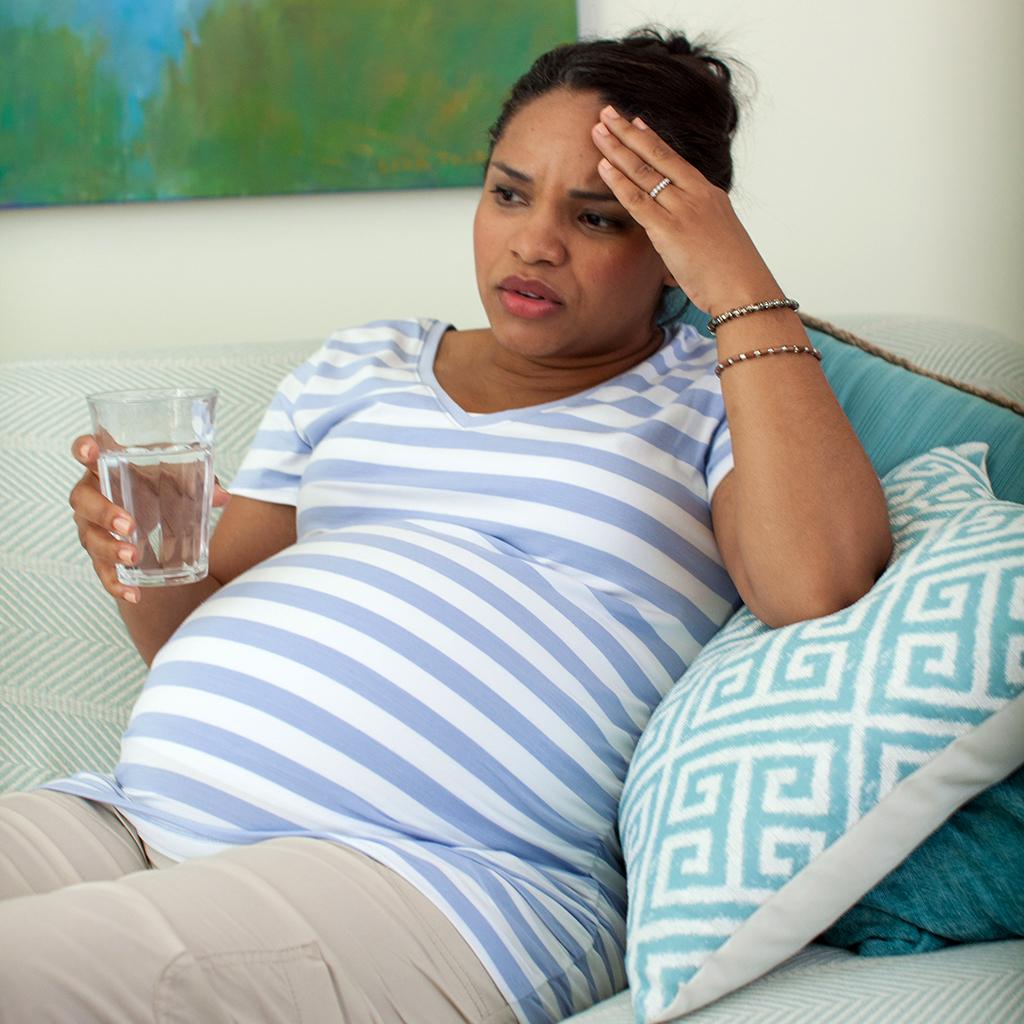Las migrañas durante el embarazo