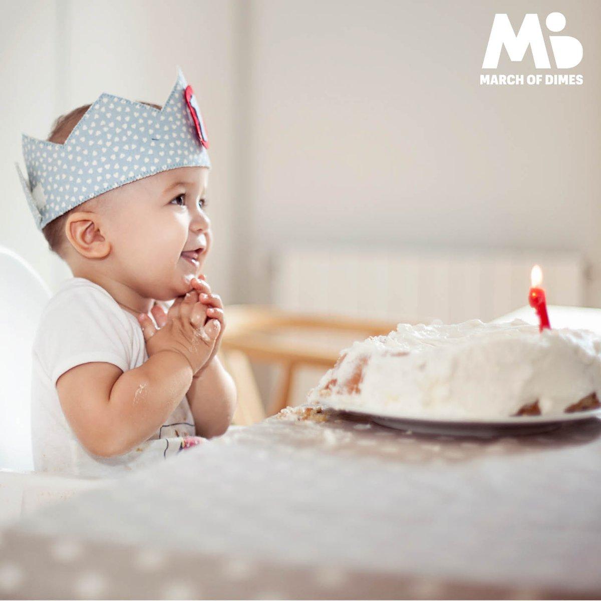 Ayudemos a que todos los bebés celebren su primer añito