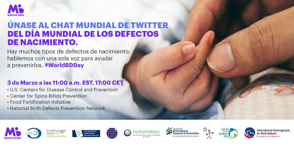 Día Mundial de los Defectos de Nacimiento 2020