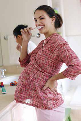 Problemas dentales durante el embarazo