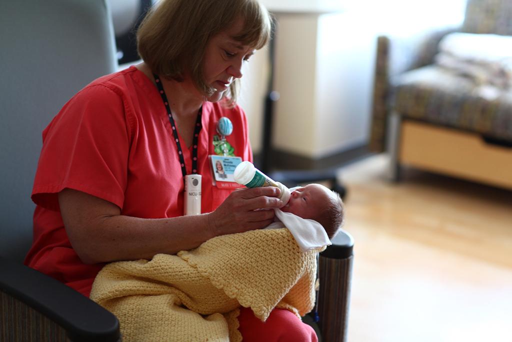 Dificultades en la alimentación y el bebé prematuro