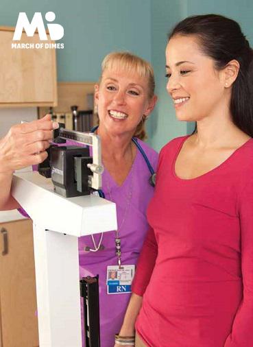 ¿Planeando un embarazo? ¡Nunca es tarde para alcanzar un peso saludable!