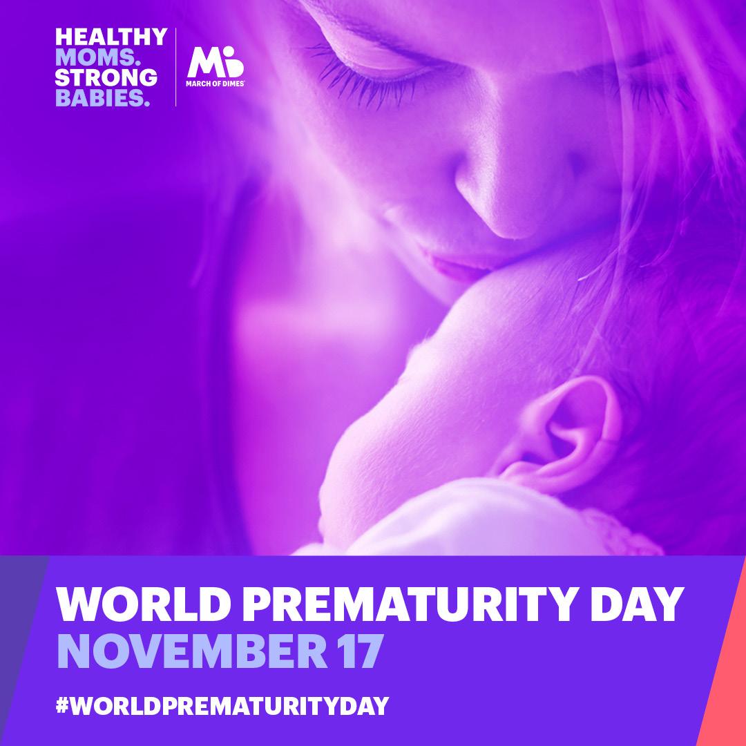 17 de Noviembre es el Día Mundial Del Nacimiento Prematuro