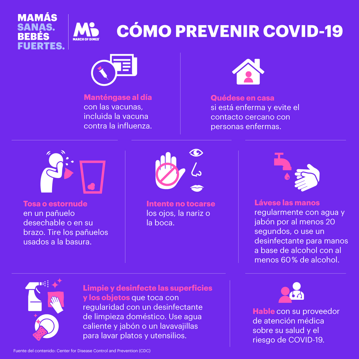 Qué puede hacer para ayudar a prevenir la enfermedad de coronavirus